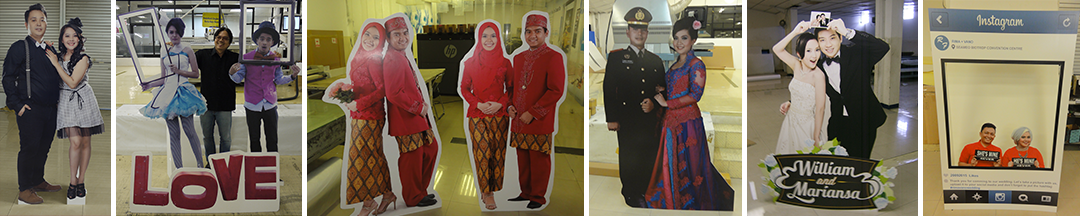 Digital Printing | Standee – Wedding Cut Out Standee