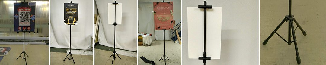 Digital Printing | Display System – Banner – Tripod Banner –  Tripod Telescopic Display Stand