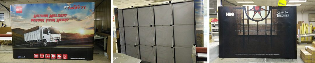 Digital Printing | Display System – Backwall – Backdrop – Portable Display
